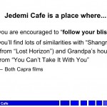 More on Jedemi's Backstory…