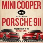 Mini USA Challenges Porsche – Wins on Publicity Front…