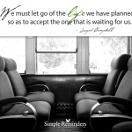 Noteable Quotable: Letting Go of the Life…