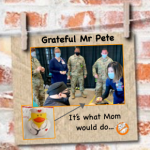 Grateful Pete and the COVID Megasite Duckies…
