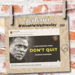 Mr. Pete's WowMeWednesday 010 Ways Out!