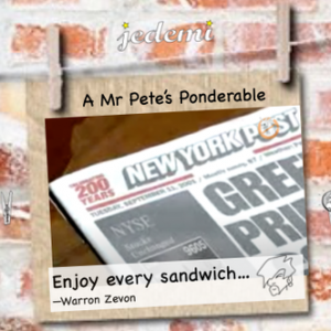 911 ponderable by Mr Pete